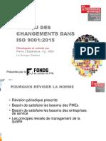 Apercu Des Changements Dans Iso 9001 2015 Vf Cca 03112016