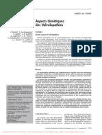 Aspect Génétiques Des Valvulopathies
