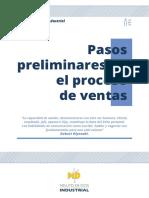 Pasos Preliminares en El Proceso de Ventas