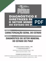 Diagnostico e diretrizes para o setor mineral no piaui