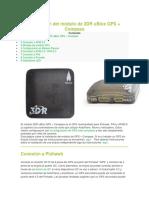 Instalación del módulo de 3DR uBlox GPS + Compass