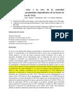Evaluación in Vitro e in Vivo de La Actividad Anticancerígena