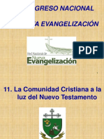 11. La Comunidad Cristiana a la luz del Nuevo Testamento.ppt