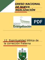 12. Espiritualidad bíblica de la corrección fraterna.ppt