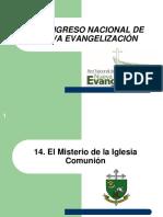 14. El Misterio de La Iglesia Comunión