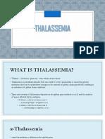 Thalassemia 1