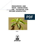 Bioresources and Indigenous Knowledge in Assam