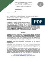 Liquidacion Gloria Machado