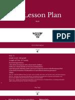 5e lesson plan  2