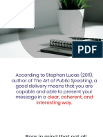 Speech Delivery in Different Situations Copy
