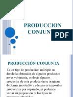 PRODUCCION CONJUNTA