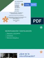 Microfilmacion y Digitalizacion