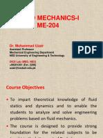 Chal 1 slides of fluid mechanics