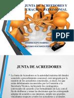 Junta de Acreedores y Reestructuracion Patrimonial