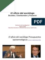1. Oficio de Sociologo-Bourdieu Notas de YANKIEL- LARROSA y MEHR