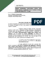 Cumprimento de Sentença - Manoel Felipe Martins - Honorários (2)