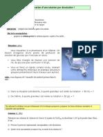 0. TP 3 Une Solution de Glucose