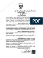 Reglamento de fiscalías especializadas