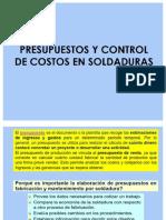PRESUPUESTOS EN SOLDADURA
