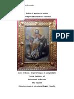 Análisis de La Pintura La Trinidad