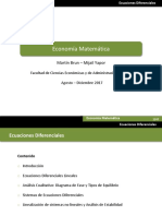 Diagramas de Fase Ecuaciones diferenciales_2017