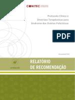 Relatorio PCDT SindromeOvariosPolicisticos CP05 2019