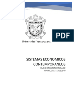La Nocion de Sistema Economico