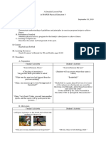 Detailed Lesson Plan in MAPEH 8- Baseball and Softball