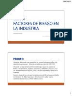 FACTORES DE RIESGO INDUSTRIAL