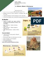 (5) Dilúvio, Babel e Patriarcas_pdf