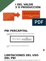 Método Del Valor Añadido o Producción
