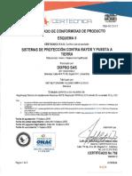 Certificado RETIE Productos OBO