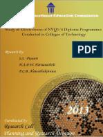 Study Effectiveness NVQ L5 6 Diploma COT