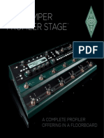 Kemper Profiler Stage Prospekt