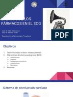 Efectos de Los Fármacos en El Electrocardiograma