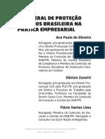 A LEI GERAL DE PROTEÇÃO DE DADOS BRASILEIRA NA PRÁTICA EMPRESARIAL