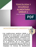 Toxicologia y Seguridad Alimentaria Unidad 2