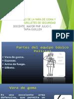 Clase 5 b - Uso Vara Goma y Grilletes