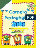 CARPETA PEDAGÓGICA 2019