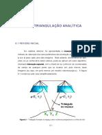 Aerotriangulação Analítica