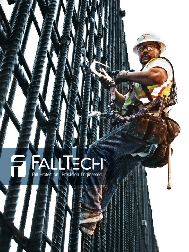Hi-Vis Load-Bearing Plate FallTech 74942 Suspended Cable Anchor 1 Swivel Anchor Eye ONe Attachment End 2 High Strength 1//4 Galvanized Cable