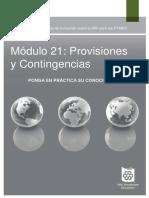 modulo 21 provisiones