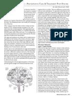 Understanding Stroke; Preventative Care & Treatment Post-Stroke