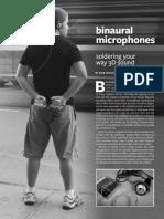 How to Build Binaural Microphones