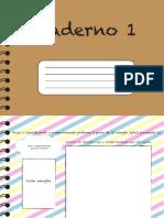 caderno registro