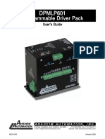 Controlador DPMLP601 Users Guide