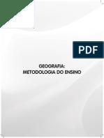 Geografia Metodologia Do Ensino