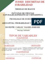 DISTRIBUCIONES DISCRETAS DE PROBABILIDAD INGENIERIA.pptx