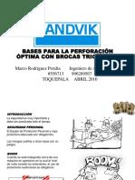 Bases para la Perforación Optima de Brocas Triconicas - toquepala.ppt