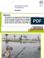 Making climate change adaptation pro-poor by opting for small infrastructure projects using local resources - presentation